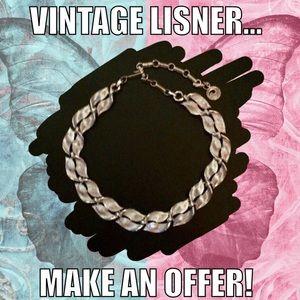 Vintage Signed Lisner Choker Necklace